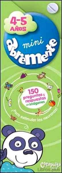 ABREMENTE 4-5 AÑOS libro online