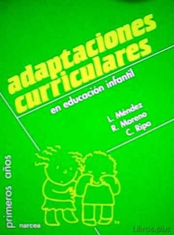 ADAPTACIONES CURRICULARES EN EDUCACION INFANTIL libro online