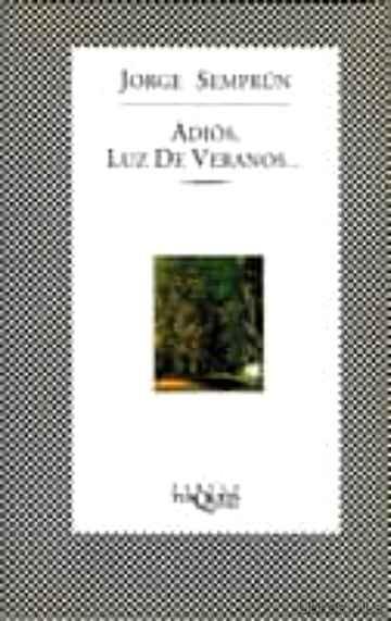 ADIOS, LUZ DE VERANOS libro online