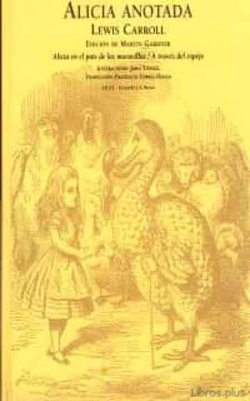 ALICIA, ANOTADA (2ª ED.) libro online