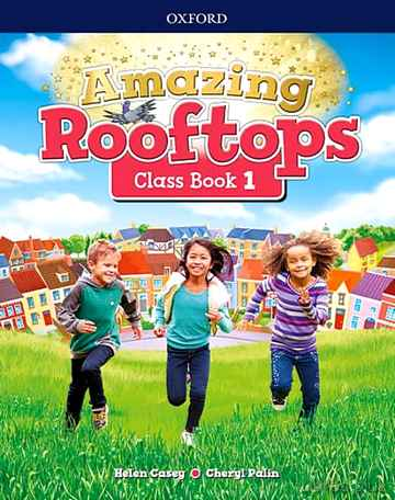 AMAZING ROOFTOPS 1 CLASS BOOK PACK MADRID libro online