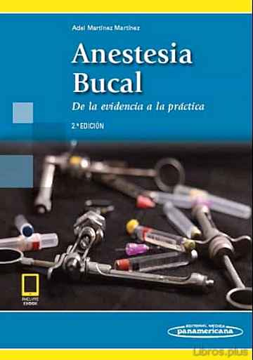 Descargar gratis ebook ANESTESIA BUCAL (INCLUYE en epub