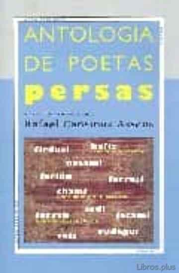 ANTOLOGIA DE POETAS PERSAS libro online