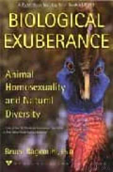 Descargar ebook gratis epub BIOLOGICAL EXUBERANCE: ANIMAL HOMOSEXUALITY AND NATURAL DIVERSITY de BRUCE BAGEMIHL
