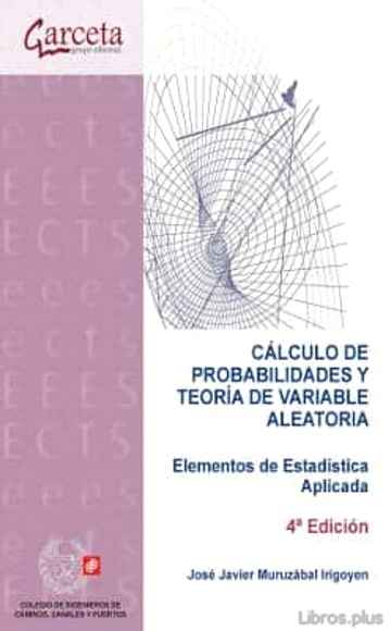 Descargar gratis ebook CALCULO DE PROBABILIDADES Y TEORIA DE VARIABLE ALEATORIA en epub