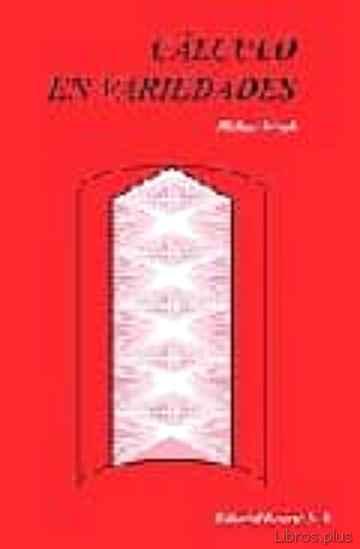 CALCULO EN VARIEDADES libro online
