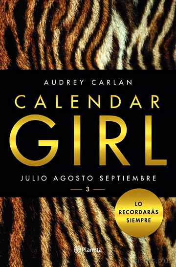 Descargar gratis ebook CALENDAR GIRL 3 en epub
