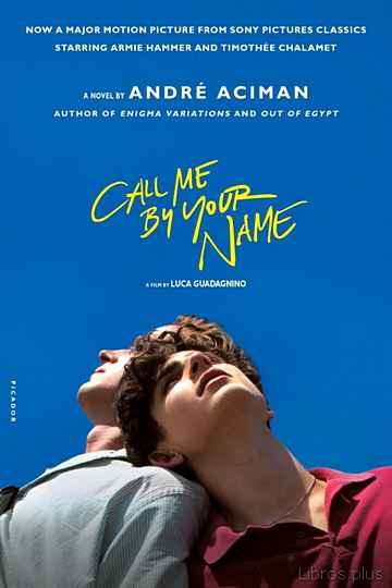 CALL ME BY YOUR NAME libro online