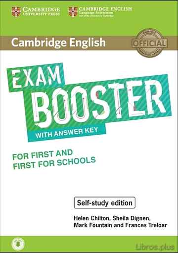 Descargar gratis ebook CAMBRIDGE ENGLISH EXAM BOOSTER WITH ANSWER KEY FOR FIRST AND FIRST FOR SCHOOL en epub