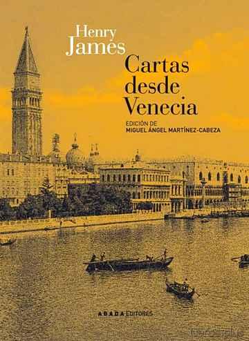 CARTAS DESDE VENECIA libro online