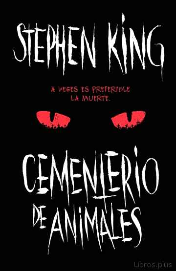 Descargar gratis ebook CEMENTERIO DE ANIMALES en epub