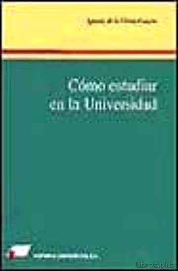 Descargar gratis ebook COMO ESTUDIAR EN LA UNIVERSIDAD en epub
