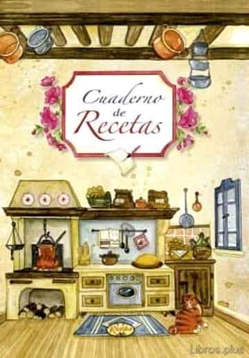 CUADERNO DE RECETAS libro online