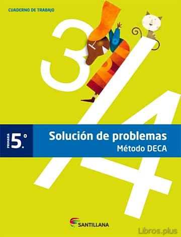 CUADERNO PROBLEMAS DECA EDICION 2013 5º PRIMARIA libro online