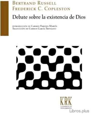 DEBATE SOBRE LA EXISTENCIA DE DIOS libro online