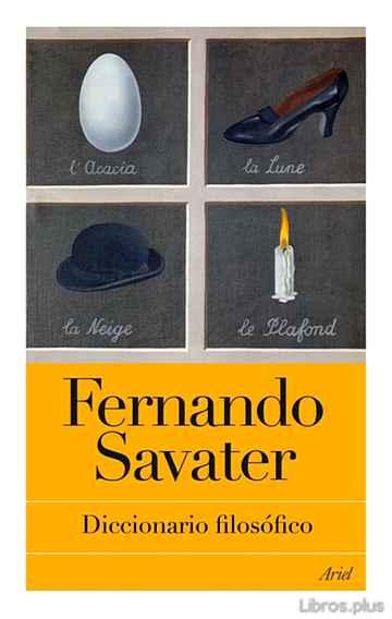 DICCIONARIO FILOSOFICO libro online