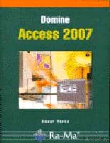 Descargar gratis ebook DOMINE ACCESS 2007 en epub
