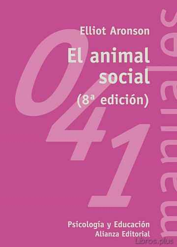 Descargar gratis ebook EL ANIMAL SOCIAL (8ª ED.) en epub