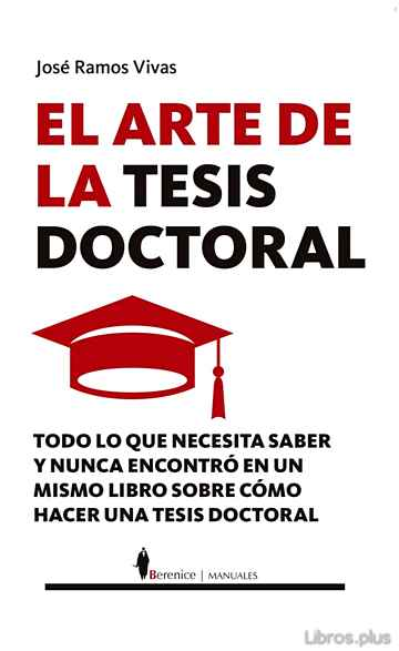Descargar gratis ebook EL ARTE DE LA TESIS DOCTORAL en epub