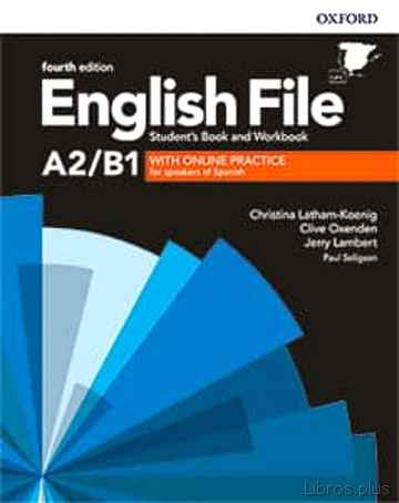 Descargar gratis ebook ENGLISH FILE 4TH EDITION A2/B1. STUDENT S BOOK AND WORKBOOK WITH KEY PACK en epub