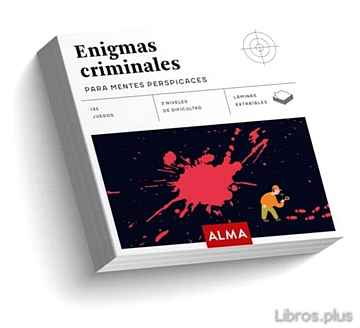 Descargar gratis ebook ENIGMAS CRIMINALES PARA MENTES PERSPICACES (CUADRADOS DE DIVERSION) en epub