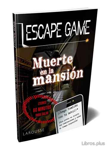Descargar gratis ebook ESCAPE GAME. MUERTE EN LA MANSION en epub