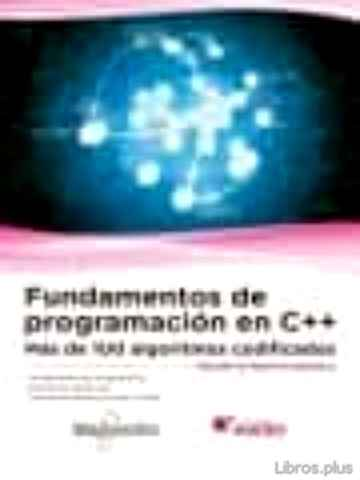 Descargar gratis ebook FUNDAMENTOS DE PROGRAMACIÓN EN C++ en epub