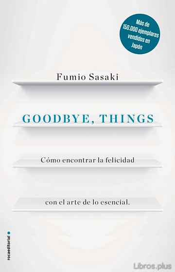 Descargar gratis ebook GOODBYE, THINGS en epub