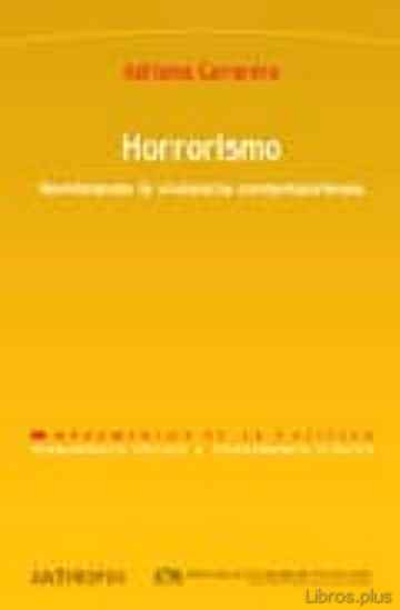 Descargar gratis ebook HORRORISMO: NOMBRANDO LA VIOLENCIA CONTEMPORANEA en epub