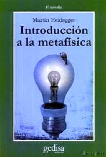 Descargar ebook INTRODUCCION A LA METAFISICA