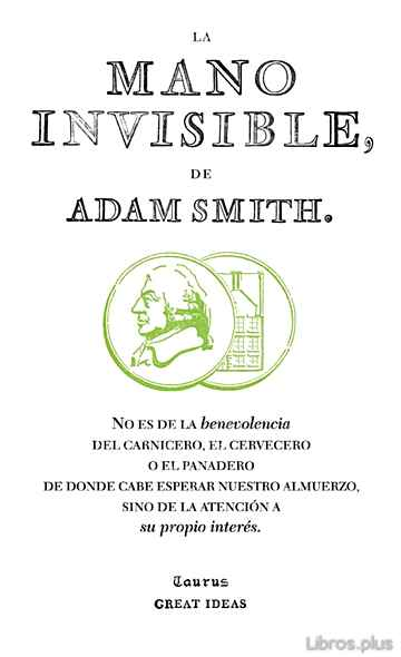 Descargar gratis ebook LA MANO INVISIBLE (GREAT IDEAS) en epub