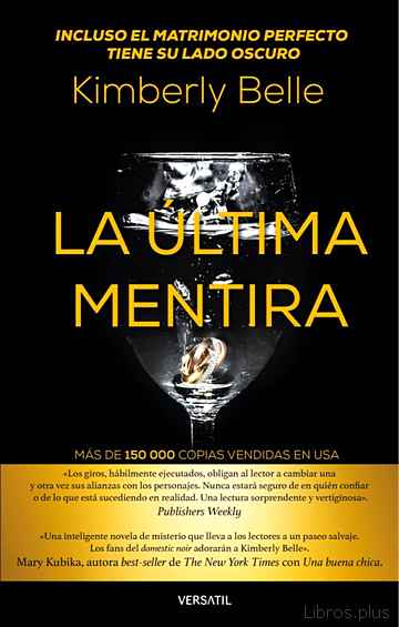 Descargar gratis ebook LA ULTIMA MENTIRA en epub