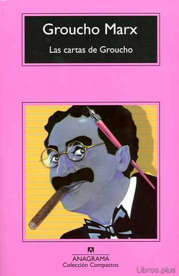 Descargar ebook gratis epub LAS CARTAS DE GROUCHO de GROUCHO MARX