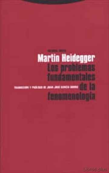 Descargar ebook LOS PROBLEMAS FUNDAMENTALES DE LA FENOMENOLOGIA