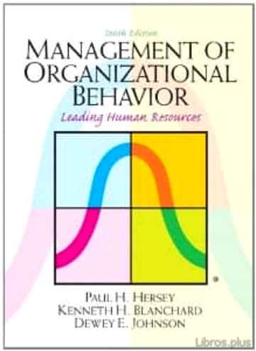 Descargar gratis ebook MANAGEMENT OF ORGANIZATIONAL BEHAVIOR en epub
