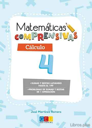 Descargar gratis ebook MATEMATICAS COMPRENSIVAS CALCULO 4 en epub