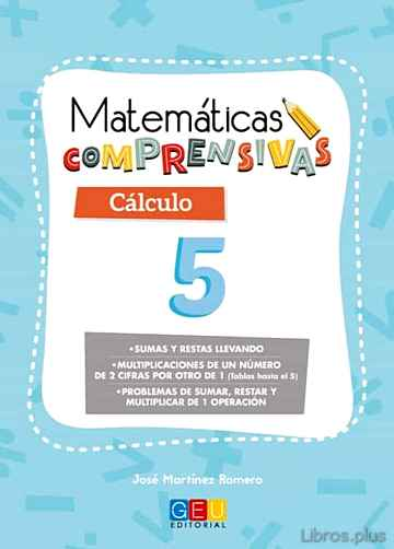 Descargar gratis ebook MATEMATICAS COMPRENSIVAS CALCULO 5 en epub