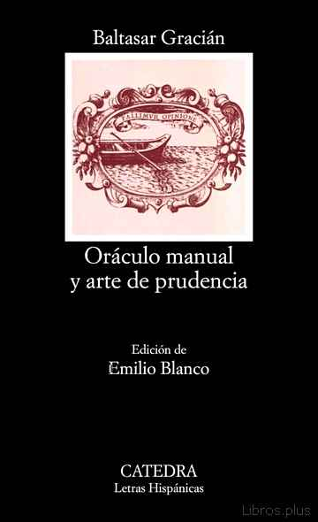 Descargar gratis ebook ORACULO MANUAL Y ARTE DE PRUDENCIA en epub