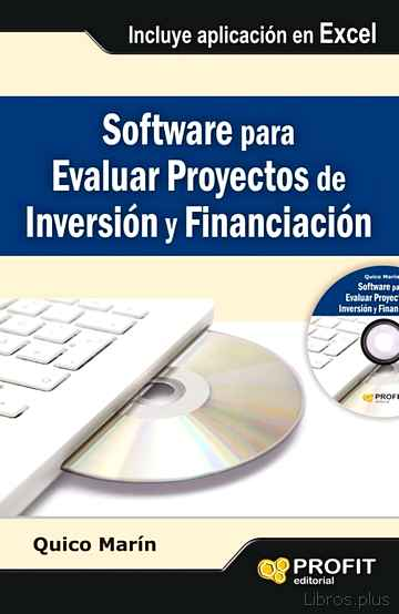 Descargar gratis ebook SOFTWARE PARA EVALUAR PROYECTOS DE INVERSION Y FINANCIACION en epub