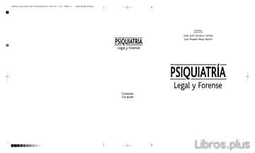 Descargar gratis ebook TRATADO DE PSIQUIATRIA LEGAL Y FORENSE (4ª ED.) en epub