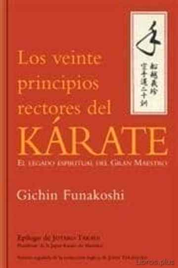 Descargar gratis ebook VEINTE PRINCIPIOS RECTORES DEL KARATE en epub